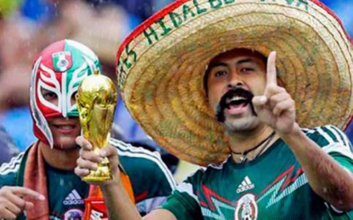 Afición mexicana no podrá utilizar máscaras en Mundial Rusia 2018 - El Sol  de Durango dc33e1f1de4