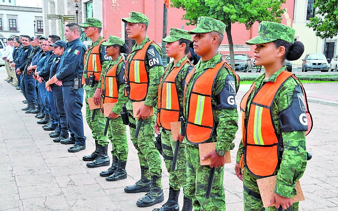 Hay equidad de género en la Guardia Nacional - El Sol de Durango