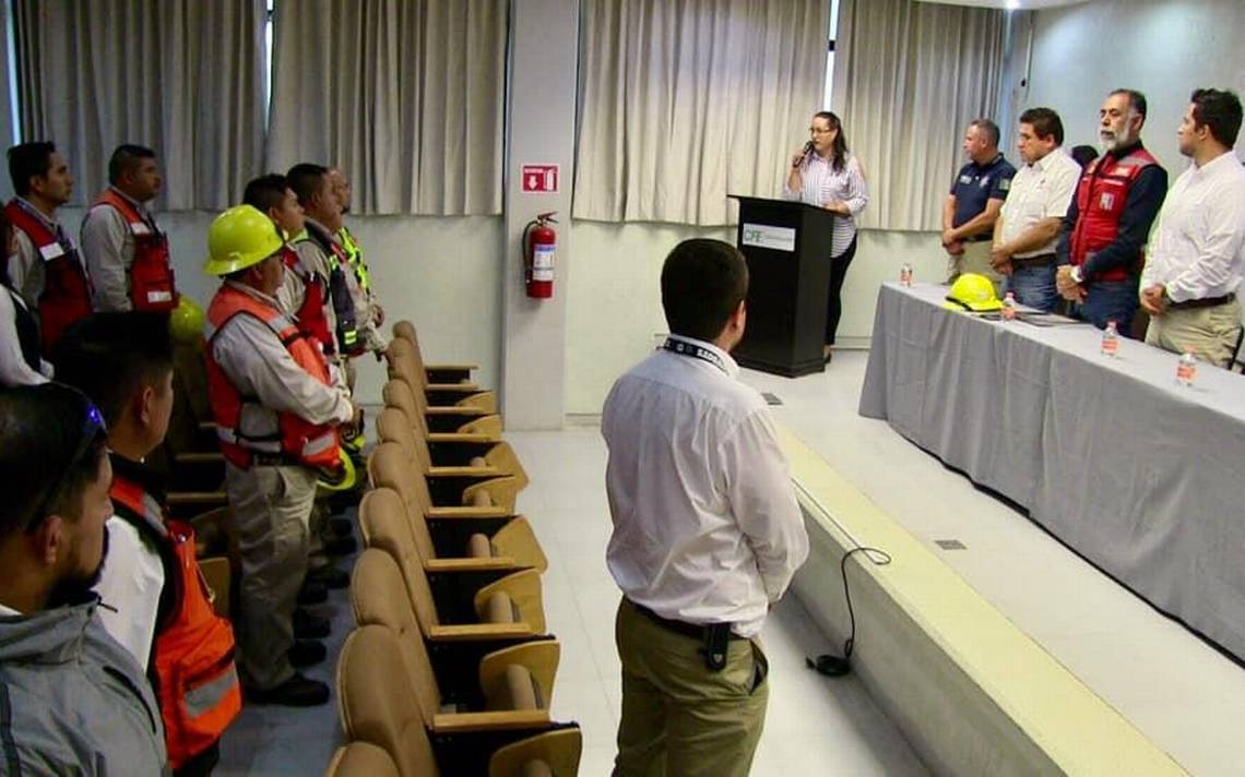 Inauguran El Mes De La Seguridad En La Cfe En Guadalupe